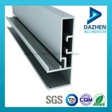 Profil en aluminium anodisé d'extrusion de porte de guichet avec des tailles personnalisées