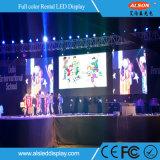 Alta pantalla de visualización al aire libre del brillo P6.67 para el alquiler
