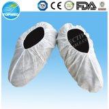 滑り止めの点の足底(TS01B)が付いているNonwoven靴カバー