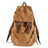 Sac lavé de sac à dos d'école de mode de tissu de toile (RS-2105C)