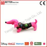 Brinquedo macio enchido do cão do luxuoso do animal de exploração agrícola
