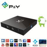 고품질 및 좋은 가격 도매 X96 S905X 1g 8g 스마트 세트 상단 상자 인조 인간 지능적인 텔레비젼 상자