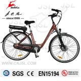 E-Bici elettriche di stile della città della visualizzazione dell'affissione a cristalli liquidi di 36V 250W 700c (JSL036G-9)