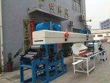 Горячая лакировочная машина клейкой ленты топления циркуляции воздуха