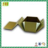 Подгонянная коробка подарка картона складывая бумажная