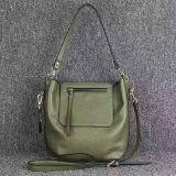 디자이너 상표 숙녀 핸드백 실제적인 가죽 어깨에 매는 가방 Emg4597