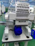 Machine de broderie automatisée par tête simple commerciale avec prix d'ordinateur d'écran tactile les meilleurs