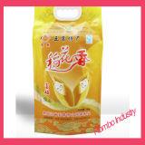 Sachet en plastique personnalisé de riz/sac d'empaquetage en plastique