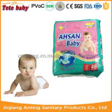 Classe ultra fina super personalizada da absorvência uma fralda descartável do tecido do bebê
