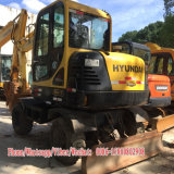 Excavatrice utilisée de roue de Hyundai 60W (6T) d'excavatrice de roue de Hyundai à vendre