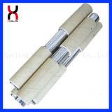 La barra de imán de neodimio de filtro magnético fuerte permanente