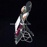 De acryl Tribune van de Vertoning van de Hoofdtelefoon met MP4 Vertoning btr-C6001