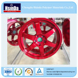 Hot Dirty Candy Red Yellow Powder Coating for Wheels
