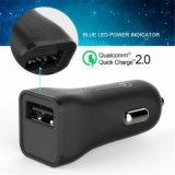 Новые QC2.0 хода быстрой зарядки адаптер автомобильное зарядное устройство