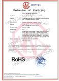 Hoge LEIDENE 4.8W/M van het Lumen SMD3528 strook met CE&RoHS voor binnengebruik