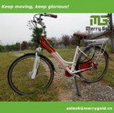Elegante 250W Ce aprobado bicicleta eléctrica para las damas