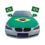 Capa do motor Design personalizado Bandeira da capa do carro