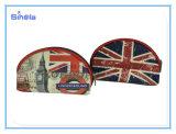 Nylonreißverschluss-London-Szenen-kleiner Münzen-Beutel