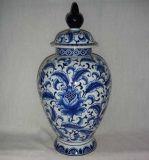 Met de hand geschilderde ceramische Vaas Blue&White