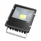 Luz al aire libre de aluminio de Bridgelux de la alta iluminación con focos de los lúmenes 50W LED