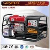 Генератор 12kVA низкого расхода топлива тепловозный с мощным генератором
