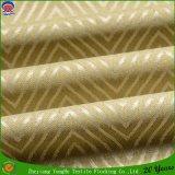 Tissu imperméable à l'eau tissé de rideau en jacquard d'arrêt total de franc de polyester