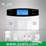 Sistema de alarme de intrusão doméstica sem fio de uso automático