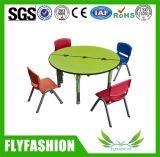 테이블 (SF-37C)가 아이들 가구 원탁 디자인에 의하여 농담을 한다
