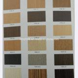 Feuille en PVC avec le grain de bois pour la décoration (HL003)