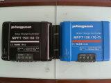 Регулятор MPPT 60A Fangpusun 12V 24V 36V 48V голубой солнечный поручая с индикацией LCD
