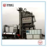 Mistura quente do cilindro de secagem máquina de mistura do asfalto da proteção ambiental de 80 T/H com baixa emissão