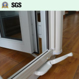 White UPVC Casement Window Crank Lock Roller Screen K02057