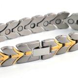 Vente en gros Bracelet unisexe de nouvelle conception avec couleur dorée plaquée
