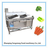 Wasc-22 Acier inoxydable Commercial Double Trough Machine à laver, légumes / Fruit Washer