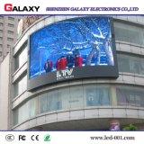 TUFFO caldo 3 di colore completo P10 di vendita in 1 esplorazione esterna dello schermo di visualizzazione della parete del modulo LED di 320mm*160mm video 1/4 per fare pubblicità