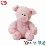 Le porc mou bourré par peluche mignonne badine le jouet rose fait sur commande de la CE