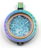 Lockets permutables pendientes para la joyería de la manera del collar