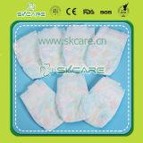 Couches remplaçables gravées en relief de couches-culottes de bébé de film mou de coton