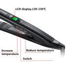 Matellic Blue Professional Fast Heat Up Straightener de cabelo com placas flutuantes longas