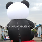 Big Chinese Animal Panda Cartoon Cartoon gonflable pour les grands événements