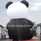 Grande replica gonfiabile animale cinese del panda del fumetto per i grandi eventi