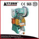 Carimbando a máquina da tecla da imprensa de perfurador da mão