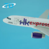 HK Express A320 (18cm) Modelo de montagem de plástico artesanal