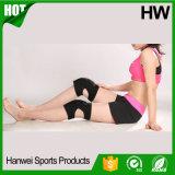 スパンデックスの伸縮織物は取り除く苦痛の徴候のスポーツの膝頭(HW-KS016)を