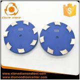 140mm de diámetro Klindex de bonos de metal pulido de mármol de las pastillas para