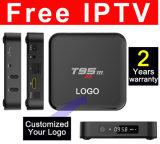 fait sur mesure Android TV Box S905/S905X Quad Core T95m-2GO/8 Go