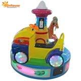 Het de nieuwe Elektrische Auto van de Spelen van de Rit van Kiddie van de Carrousel van de Aankomst Kleine Muntstuk In werking gestelde en Spel van het Paardrijden van Zonnebloem