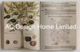 تاريخ علم نبات [بو] [لثر/مدف] خشبيّة كتاب شكل جدار فنية