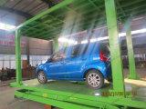 La voiture électrique avec deux plate-forme de levage