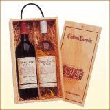 Caja de vino de madera,caja de vino (WA-042)